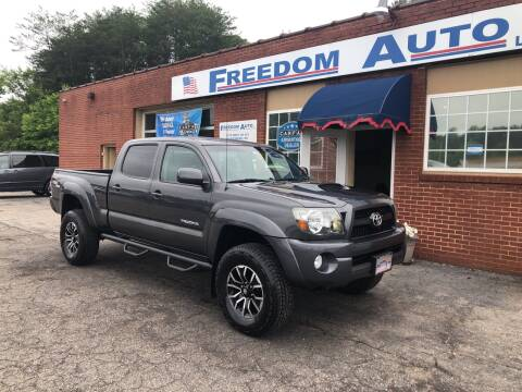 2011 Toyota Tacoma for sale at FREEDOM AUTO LLC in Wilkesboro NC