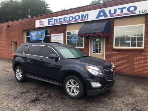 2017 Chevrolet Equinox for sale at FREEDOM AUTO LLC in Wilkesboro NC