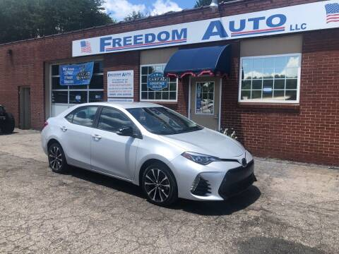 2017 Toyota Corolla for sale at FREEDOM AUTO LLC in Wilkesboro NC