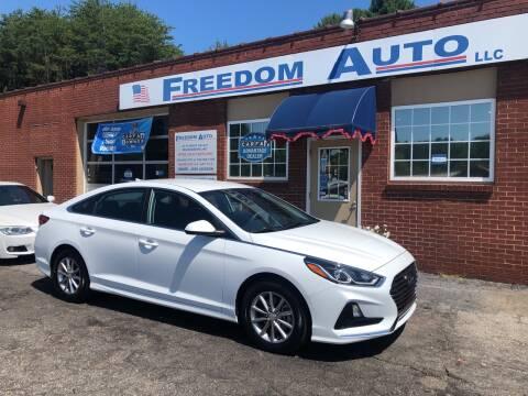 2019 Hyundai Sonata for sale at FREEDOM AUTO LLC in Wilkesboro NC