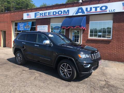 2017 Jeep Grand Cherokee for sale at FREEDOM AUTO LLC in Wilkesboro NC