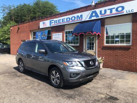 2019 Nissan Pathfinder for sale at FREEDOM AUTO LLC in Wilkesboro NC
