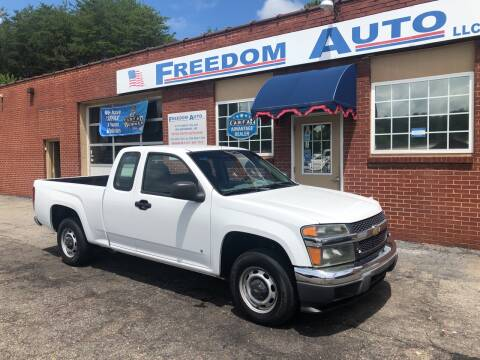 2007 Chevrolet Colorado for sale at FREEDOM AUTO LLC in Wilkesboro NC