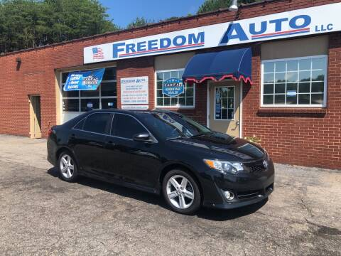 2013 Toyota Camry for sale at FREEDOM AUTO LLC in Wilkesboro NC