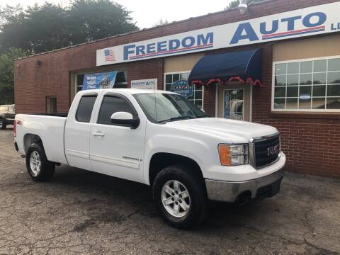 2007 GMC Sierra 1500 for sale at FREEDOM AUTO LLC in Wilkesboro NC