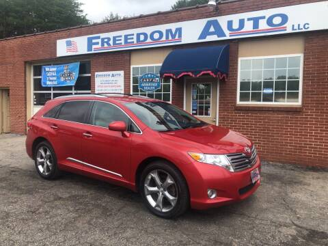 2011 Toyota Venza for sale at FREEDOM AUTO LLC in Wilkesboro NC