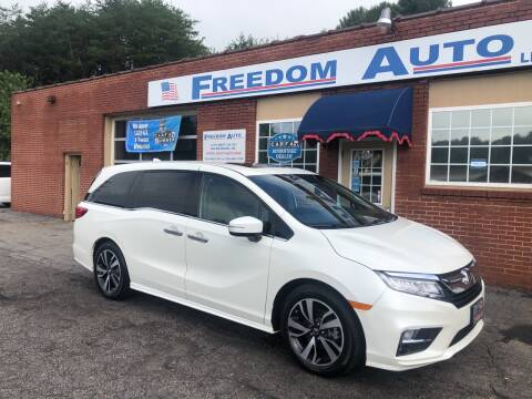 2018 Honda Odyssey for sale at FREEDOM AUTO LLC in Wilkesboro NC