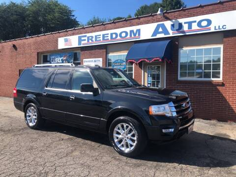 2015 Ford Expedition EL for sale at FREEDOM AUTO LLC in Wilkesboro NC