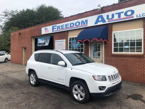 2016 Jeep Compass for sale at FREEDOM AUTO LLC in Wilkesboro NC