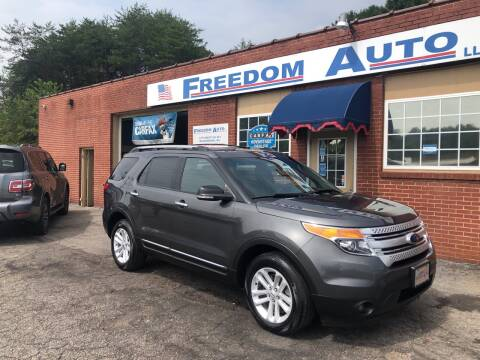 2015 Ford Explorer for sale at FREEDOM AUTO LLC in Wilkesboro NC
