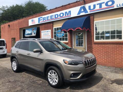 2019 Jeep Cherokee for sale at FREEDOM AUTO LLC in Wilkesboro NC