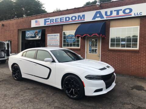 2019 Dodge Charger for sale at FREEDOM AUTO LLC in Wilkesboro NC