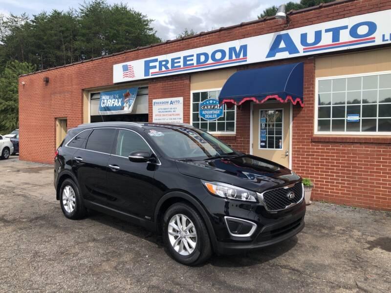 2016 Kia Sorento for sale at FREEDOM AUTO LLC in Wilkesboro NC