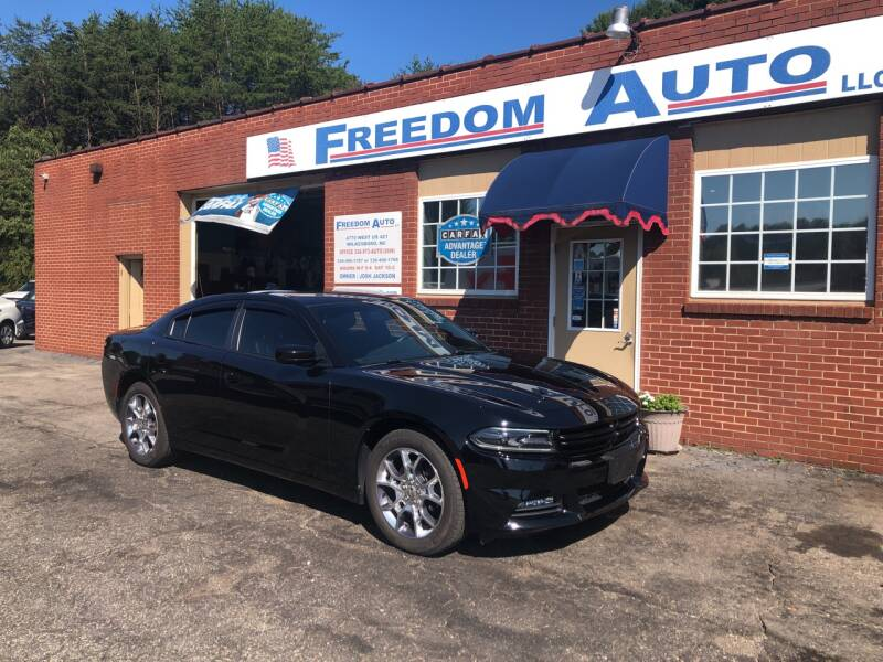 2016 Dodge Charger for sale at FREEDOM AUTO LLC in Wilkesboro NC