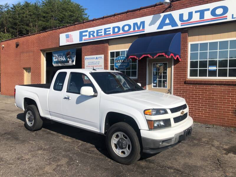 2011 Chevrolet Colorado for sale at FREEDOM AUTO LLC in Wilkesboro NC
