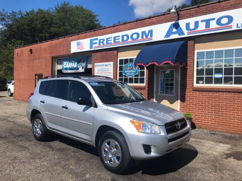 2010 Toyota RAV4 for sale at FREEDOM AUTO LLC in Wilkesboro NC