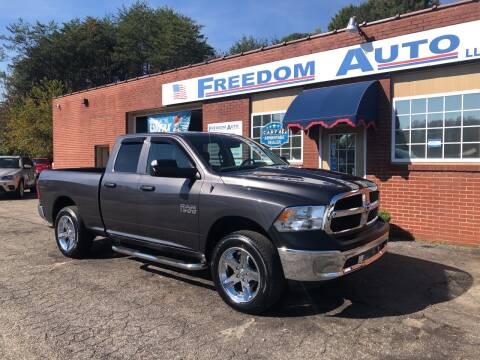 2018 RAM Ram Pickup 1500 for sale at FREEDOM AUTO LLC in Wilkesboro NC