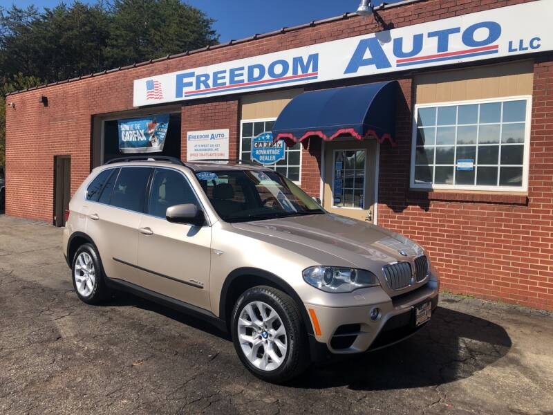 2013 BMW X5 for sale at FREEDOM AUTO LLC in Wilkesboro NC