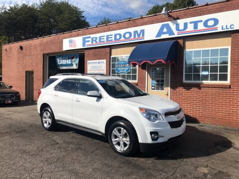 2013 Chevrolet Equinox for sale at FREEDOM AUTO LLC in Wilkesboro NC