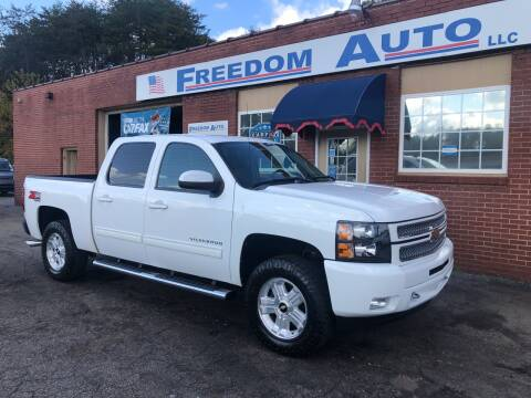 2012 Chevrolet Silverado 1500 for sale at FREEDOM AUTO LLC in Wilkesboro NC