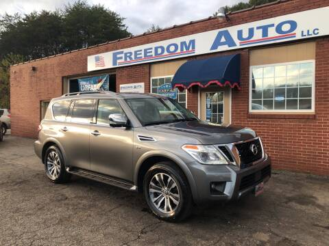 2019 Nissan Armada for sale at FREEDOM AUTO LLC in Wilkesboro NC