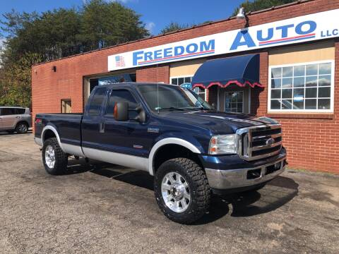 2005 Ford F-250 Super Duty for sale at FREEDOM AUTO LLC in Wilkesboro NC