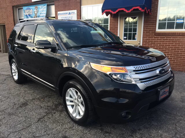 2014 ford explorer xlt awd 4dr suv in wilkesboro nc freedom auto llc. Black Bedroom Furniture Sets. Home Design Ideas
