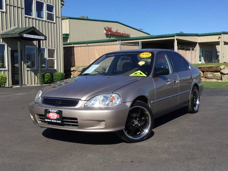 2000 honda civic lx in wenatchee wa discount motor sales llc for Discount motors jacksboro hwy inventory