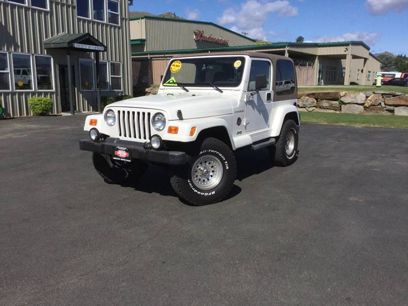 2001 Jeep Wrangler 2dr Sahara 4WD SUV   Wenatchee WA