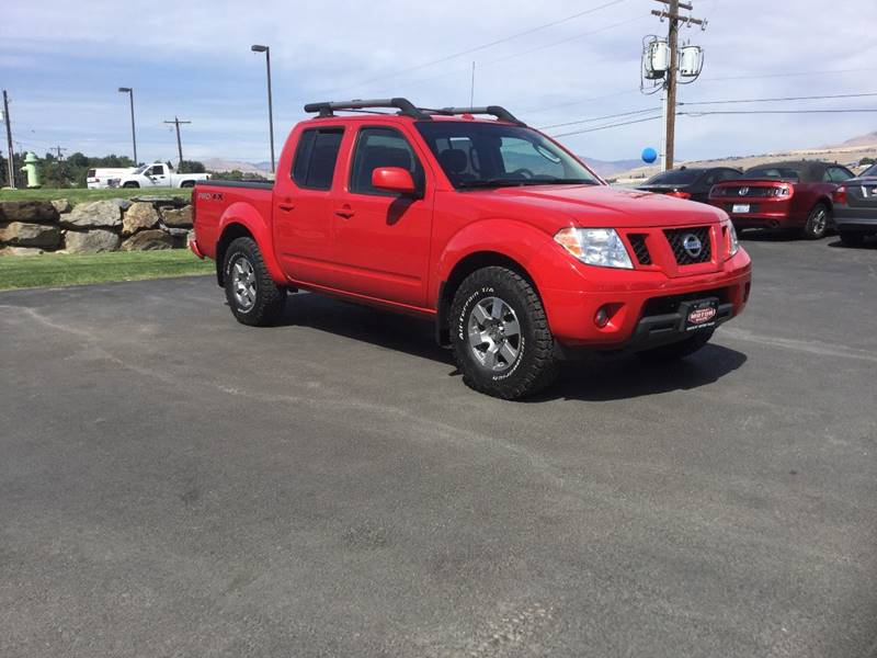 2009 Nissan Frontier 4x4 Pro 4x Crew Cab Short Bed 4dr 5a In