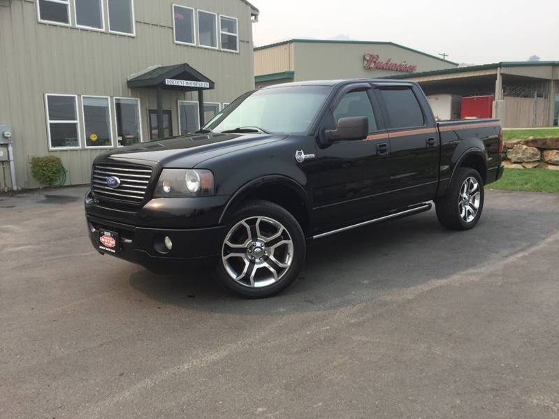 2008 Ford F-150 4x4 Harley-Davidson 4dr SuperCrew 5.5 ft. SB In ...