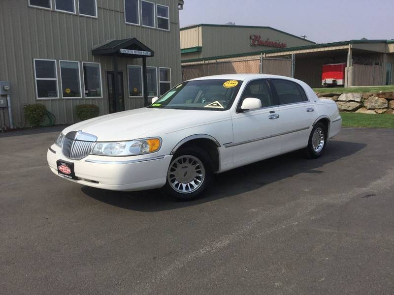 2002 Lincoln Town Car Cartier 4dr Sedan In Wenatchee Wa Discount