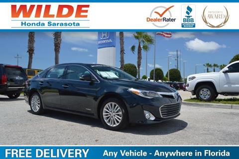 2015 Toyota Avalon Hybrid for sale in Sarasota, FL