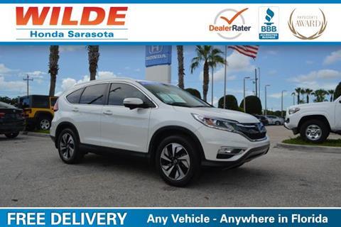 2016 Honda CR-V for sale in Sarasota, FL