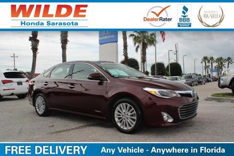 2013 Toyota Avalon Hybrid for sale in Sarasota, FL