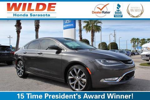 2015 Chrysler 200 For Sale In Sarasota, FL