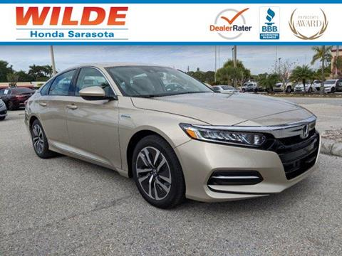 2019 Honda Accord Hybrid for sale in Sarasota, FL