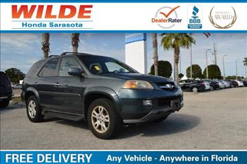 2004 Acura MDX for sale in Sarasota, FL