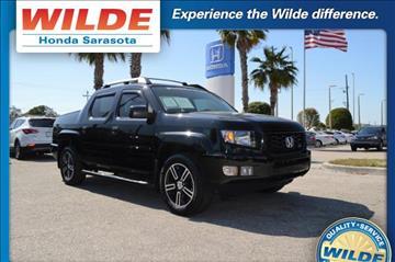 2013 Honda Ridgeline for sale in Sarasota, FL