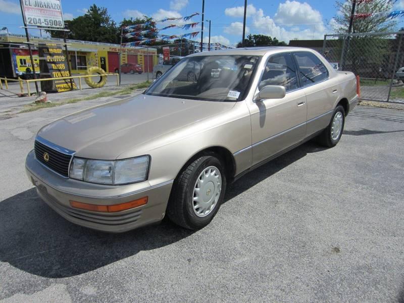 1992 Lexus LS 400 4dr Sedan   San Antonio TX