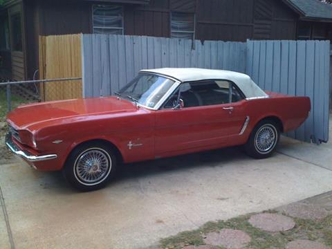 65 Mustang For Sale >> 1965 Ford Mustang For Sale Carsforsale Com