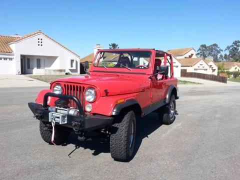 Jeep cj 7 for sale for Marshall motors brooksville fl