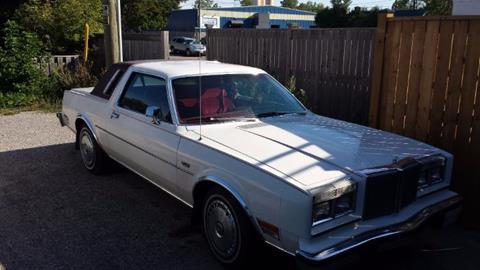 1981 Chrysler Le Baron