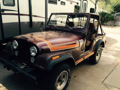 1976 Jeep CJ-5 for sale at Haggle Me Classics in Hobart IN