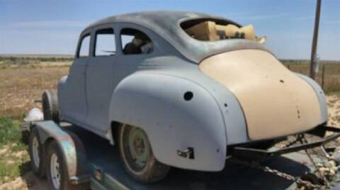 1948 Chrysler Windsor for sale at Haggle Me Classics in Hobart IN
