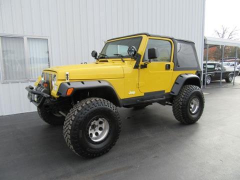 2002 Jeep Wrangler for sale in Hobart, IN