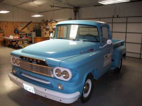 1960 Dodge D100 Pickup for sale at Haggle Me Classics in Hobart IN