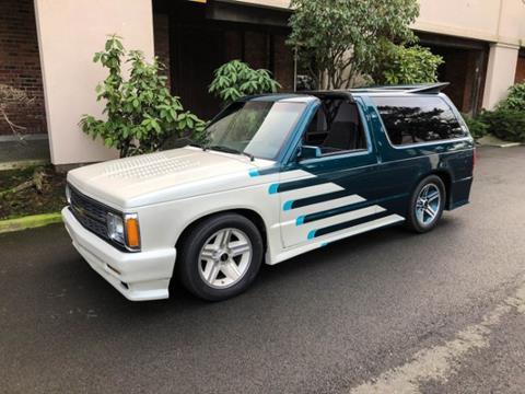 1984 Chevrolet Blazer For Sale Carsforsale