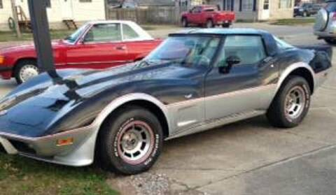 1978 Chevrolet Corvette for sale at Haggle Me Classics in Hobart IN