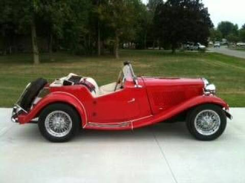 1952 MG TD for sale at Haggle Me Classics in Hobart IN